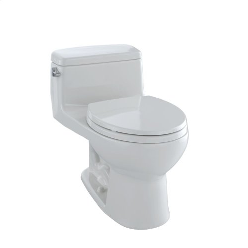 Eco Supreme® One-Piece Toilet, 1.28 GPF, Round Bowl - Colonial White