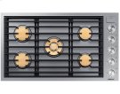 "36"" Drop-In Gas Cooktop, Graphite Stainless Steel, Natural Gas Product Image"
