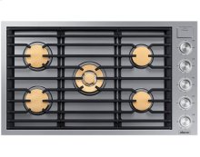 """36"""" Drop-In Gas Cooktop, Stainless Steel, Natural Gas"""
