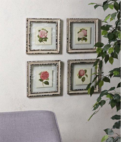 Lynette Framed Artwork - Set of 4