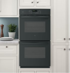 """GE Profile Series 27"""" Built-In Double Convection Wall Oven"""