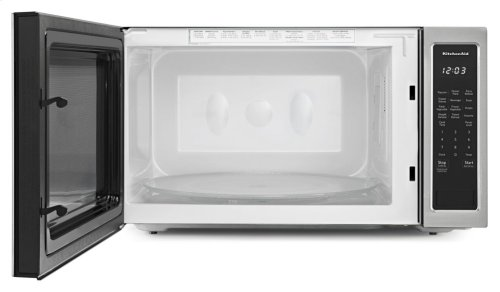 "24"" Countertop Microwave Oven - 1200 Watt - Stainless Steel"