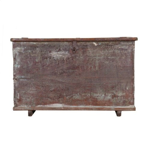 Antique Wood Storage Box Ue71