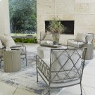 Bamboo Lounge Chair-Antique Grey-Atlas Sterling Product Image