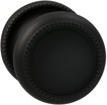 Interior Traditional Knob Latchset in (US10B Oil-rubbed Bronze, Lacquered)