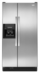 Stainless Steel Whirlpool® 25 cu. ft. ENERGY STAR® Qualified Side-by-Side Refrigerator Product Image