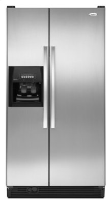 Stainless Steel Whirlpool® 25 cu. ft. ENERGY STAR® Qualified Side-by-Side Refrigerator