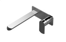 Phase Wall-Mounted Lavatory Faucet with Single Handle