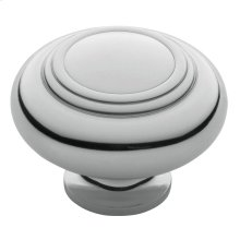 Polished Chrome Ring Deco Knob
