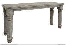 Sofa Table Gray Finish