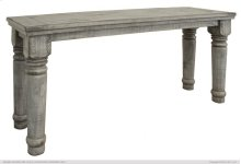 Sofa Table Gray Finish