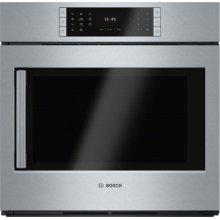 Benchmark® built-in oven 30'' Stainless steel, Door hinge: Right HBLP451RUC