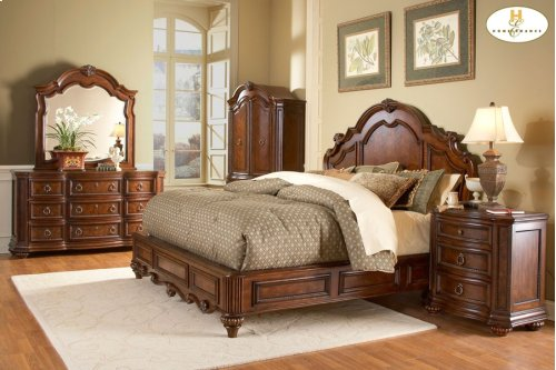 Eastern King Low Profile Bed