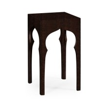Square Lamp Table (Ebonised)
