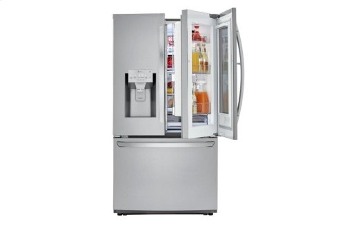 22 cu. ft. Smart wi-fi Enabled InstaView Door-in-Door® Counter-Depth Refrigerator