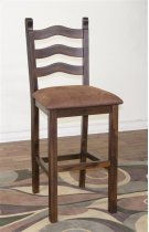 Santa Fe Ladderback Stool,cushion Seat Product Image