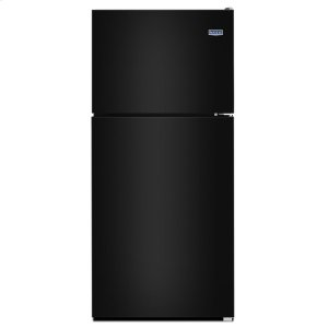 33-Inch Wide Top Freezer Refrigerator with PowerCold® Feature- 21 Cu. Ft. - BLACK