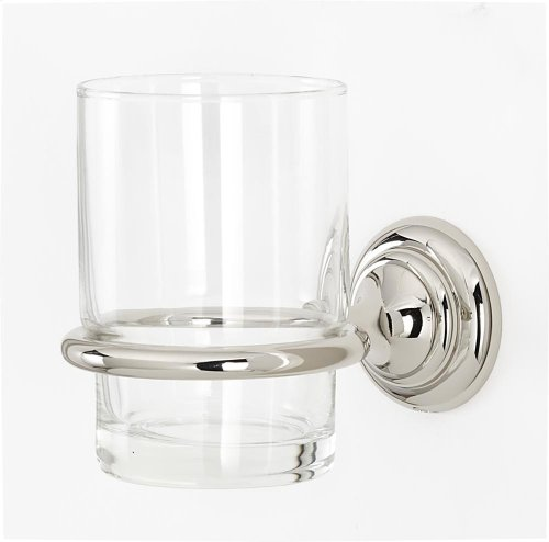 Charlie's Collection Tumbler Holder A6770 - Polished Nickel