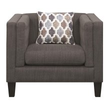 Sawyer Modern Dusty Blue Chair