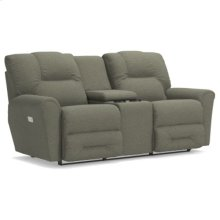 Easton PowerRecline La-Z-Time® Full Reclining Loveseat w/ Console and Power Headrest