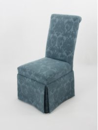 Roll back skirted chair Product Image