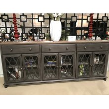 Aurora Hills 4 Door Accent Chest-b. Grey/bisque