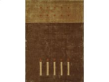 England Floor Coverings Camelot 16 Brown 5' x 8' Rectangle 100402