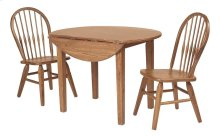 "Drop Leaf Leg Table w/2-9"" Drop Leaves"