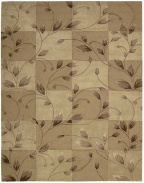 CONTOUR CON20 CARAMEL RECTANGLE RUG 3'6'' x 5'6''