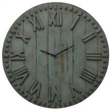 Natural Wood Clock  24in X 24in