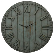 Natural Wood Clock  24in X 24in