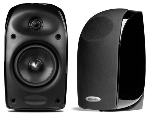 Compact Home Theater System in Black