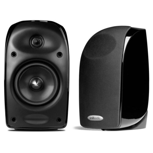 5-Piece Compact Home Theater System with TL3 Satellite and Center Channel Speakers in Black