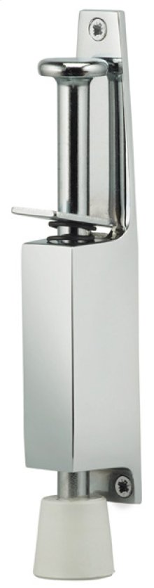 Plunger Door Holder in US26 (Polished Chrome Plated)