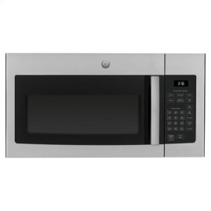 ®1.6 Cu. Ft. Over-the-Range Microwave Oven - STAINLESS STEEL/BLACK