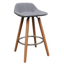 "Camaro 26"" Stool in Grey, 2pk"