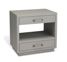 Taylor Bedside Chest - Grey