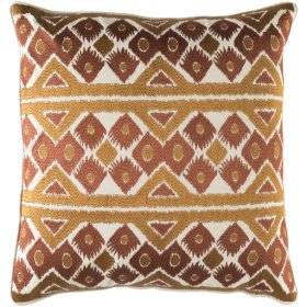 "Morowa MRW-002 18"" x 18"" Pillow Shell with Polyester Insert"