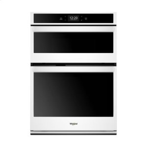 Whirlpool(R) 6.4 cu. ft. Smart Combination Wall Oven with Touchscreen - White - WHITE
