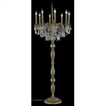 9208 Rosalia Collection Floor Lamp French Gold Finish