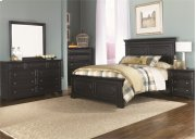 Queen Panel Bed, Dresser & Mirror, Chest, N/S Product Image