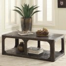 Bellagio - Rectangular Coffee Table - Weathered Worn Black Finish Product Image