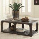 Bellagio - Rectangular Coffee Table - Weathered Worn Black Finish Product Image