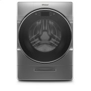 Whirlpool® 4.5 cu.ft Smart Front Load All-in-One Washer and Dryer with Load & Go™ XL Plus Dispenser, 40 Loads - Chrome Shadow Product Image