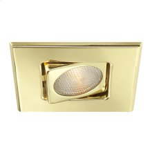 TRIM,4IN SQUARE GIMBAL - Gold