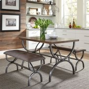 3 Piece Rectangular Table Set Product Image