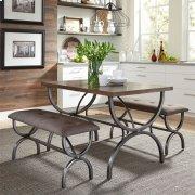 3 Piece Rectangular Table Set Product Image