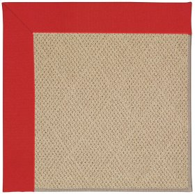 Creative Concepts-Cane Wicker Canvas Jockey Red