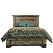 Urban Rustic Queen Bed
