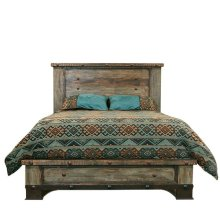 Urban Rustic Queen Bed